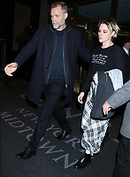 NEW YORK, NY- November 05 Kristen Stewart seen leaving the Concorde Hotel after a press junket for Charlie's Angels in New York City on November 05, 2019. Credit: RW/MediaPunch