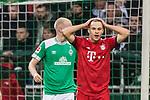 01.12.2018, Weserstadion, Bremen, GER, 1.FBL, Werder Bremen vs FC Bayern Muenchen<br /> <br /> DFL REGULATIONS PROHIBIT ANY USE OF PHOTOGRAPHS AS IMAGE SEQUENCES AND/OR QUASI-VIDEO.<br /> <br /> im Bild / picture shows<br /> Joshua Kimmich (FC Bayern Muenchen #32) &auml;rgert sich &uuml;ber vergebene Torchance, <br /> <br /> Foto &copy; nordphoto / Ewert