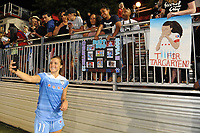 Boyds, MD - Saturday August 26, 2017: Sofia Huerta, fans during a regular season National Women's Soccer League (NWSL) match between the Washington Spirit and the Chicago Red Stars at Maureen Hendricks Field, Maryland SoccerPlex.