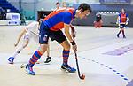 ROTTERDAM  - NK Zaalhockey . finale heren: SCHC-Amsterdam (2-2, SCHC wint shoot-outs) . Luuk van Duren (SCHC).     COPYRIGHT KOEN SUYK