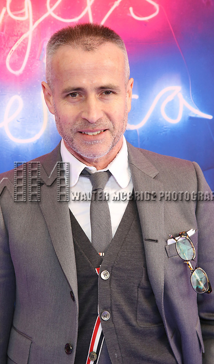 "Thom Browne attends the Broadway Opening Night Arrivals for ""Angels In America"" - Part One and Part Two at the Neil Simon Theatre on March 25, 2018 in New York City."