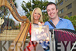 "Holly Geraghty and Jonathan Roche who launched their first cd ""Ceoolmhar"" at the Gatherine in the Gleneagle on Sunday....."