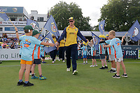 Simon Harner of Essex takes to the field during Essex Eagles vs Somerset, Vitality Blast T20 Cricket at The Cloudfm County Ground on 7th August 2019