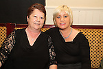 Mary Kerr and Paula Finnegan at the Joe Dolan Tribute in The Riverhouse...Picture Jenny Matthews/Newsfile.ie