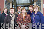 The recently formed Listry Social committee are busy organising a montly social event for elderly people in Listry and the surrounding areas which begins on February 23. .Back L-R Bridie Murphy, Ann O'Shea and Chairperson, Kathleen Buckley.Front L-R Joan Curran, Ann O'Shea and Kay Darmody