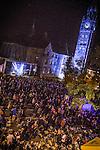 © Joel Goodman - 07973 332324 . 31 August 2013 . Rochdale , UK . The Feeling perform on the main stage . The Rochdale Feel Good Festival . Photo credit : Joel Goodman