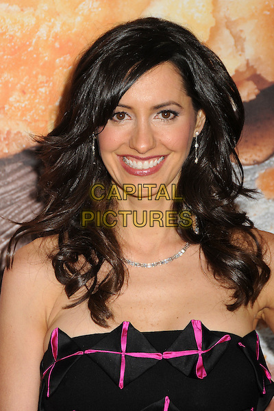 "Charlene Amoia.""American Reunion"" Los Angeles Premiere held at Grauman's Chinese Theatre, Hollywood, California, USA..19th March 2012.headshot portrait black pink  .CAP/ADM/BP.©Byron Purvis/AdMedia/Capital Pictures."