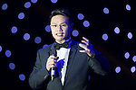 Ken Chu gives a speech during the Opening Ceremony of the the World Celebrity Pro-Am 2016 Mission Hills China Golf Tournament on 20 October 2016, in Haikou, China. Photo by Victor Fraile / Power Sport Images