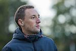 BLOEMENDAAL  -  Nijmegen coach Bas van der Schueren , competitiewedstrijd junioren  landelijk  Bloemendaal JA1-Nijmegen JA1 (2-2) . COPYRIGHT KOEN SUYK