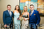 Enjoying the Rathmore Debs at Ballyroe Heights Hotel on Tuesday were l-r  Kieran Patterson, Rachel Brosnan, Anna Remington and Kian Jacob