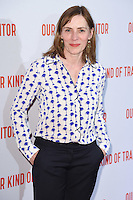 "Saskia Reeves<br /> poses at the Washington Hotel before the premiere of ""Our Kind of Traitor"" held at the Curzon Mayfair, London<br /> <br /> <br /> ©Ash Knotek  D3113 05/05/2016"