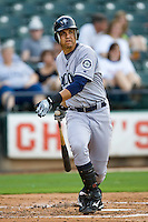 Cintron, Alex 3990.jpg.  PCL baseball featuring the Tacoma Rainers at Round Rock Express at Dell Diamond on August 5th 2009 in Round Rock, Texas. Photo by Andrew Woolley.