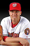 25 February 2007: Washington Nationals pitcher Colby Lewis poses for his Photo Day portrait at Space Coast Stadium in Viera, Florida.<br /> <br /> Mandatory Photo Credit: Ed Wolfstein Photo<br /> <br /> Note: This image is available in a RAW (NEF) File Format - contact Photographer.