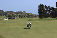 Andy Sullivan (ENG) on the 9th green during Round 2 of the Rocco Forte Sicilian Open 2018 on Friday 11th May 2018.<br /> Picture:  Thos Caffrey / www.golffile.ie<br /> <br /> All photo usage must carry mandatory copyright credit (&copy; Golffile | Thos Caffrey)