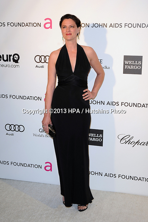 LOS ANGELES - FEB 24:  Jennifer LaFleur arrives at the Elton John Aids Foundation 21st Academy Awards Viewing Party at the West Hollywood Park on February 24, 2013 in West Hollywood, CA