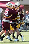Orange, CA 05/02/10 - Arizona State players celebrate a score.in action during the Chapman-Arizona State MCLA SLC Division I final at Wilson Field on Chapman University's campus.  Arizona State defeated Chapman 13-12 in overtime.