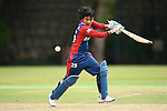 Nirmala Kumari Shahi of Nepal in action during their ICC 2016 Women's World Cup Asia Qualifier match between China and Nepal  on 11 October 2016 at the Kowloon Cricket Club in Hong Kong, China. Photo by Marcio Machado / Power Sport Images