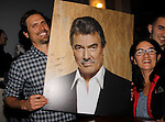 Joshua Morrow and Eric Braeden Victor and fans - The Young and The Restless - Genoa City Live celebrating over 40 on February 20, 2016 at the Wellmont Theatre, Montclair, NJ. on stage with questions and answers followed with autographs and photos in the theater.  (Photo by Sue Coflin/Max Photos)