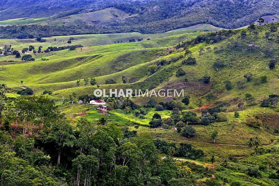 Paisagem rural no municipio de Piloes. Paraiba. 2015. Foto de Kleide Teixeira.