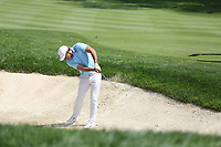 Brooks Koepka (USA) plays his 2nd shot from a fairway bunker on the 2nd hole during Saturday's Round 3 of the WGC Bridgestone Invitational 2017 held at Firestone Country Club, Akron, USA. 5th August 2017.<br /> Picture: Eoin Clarke | Golffile<br /> <br /> <br /> All photos usage must carry mandatory copyright credit (&copy; Golffile | Eoin Clarke)