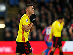 Watford's Richarlison looks on dejected after a missed chance during the premier league match at Selhurst Park Stadium, London. Picture date 12th December 2017. Picture credit should read: David Klein/Sportimage