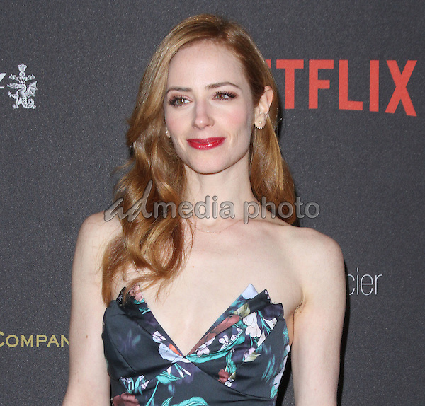 10 January 2016 - Los Angeles, California - Jaime Ray Newman. 2016 Weinstein Company & Netflix Golden Gloves After Party held at the Beverly Hilton Hotel. Photo Credit: AdMedia