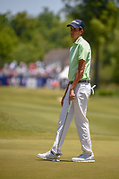 Chesson Hadley (USA) reacts to barely missing his putt on 1 during Round 4 of the Zurich Classic of New Orl, TPC Louisiana, Avondale, Louisiana, USA. 4/29/2018.<br /> Picture: Golffile | Ken Murray<br /> <br /> <br /> All photo usage must carry mandatory copyright credit (&copy; Golffile | Ken Murray)