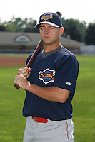 7/26/2007:  Matt Bouchard of the Brooklyn Cyclones, Short-Season Class-A affiliate of the New York Mets a Dwyer Stadium in Batavia, NY.  Photo by:  Mike Janes/Four Seam Images