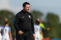 Bradenton, FL - Sunday, June 10, 2018: Mark Carr during a U-17 Women's Championship match between the United States and Haiti at IMG Academy.  USA defeated Haiti 3-2 to advance to the finals.