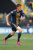 24 OCTOBER 2010:  Philadelphia Union midfielder Sebastien Le Toux (9) during MLS soccer game against the Columbus Crew at Crew Stadium in Columbus, Ohio on August 28, 2010.
