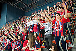 Baskonia's supporters during Quarter Finals match of 2017 King's Cup at Fernando Buesa Arena in Vitoria, Spain. February 16, 2017. (ALTERPHOTOS/BorjaB.Hojas)