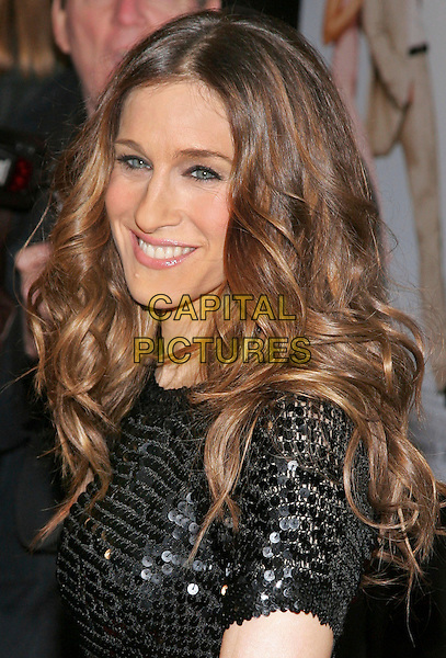 "SARAH JESSICA PARKER .Premiere of ""Failure to Launch"", New York, NY, USA..March 8th, 2006.Photo: Jackson Lee/Admedia/Capital Pictures.Ref: JL/ADM.headshot portrait black sequin.www.capitalpictures.com.sales@capitalpictures.com.© Capital Pictures."