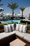 Rooftop at the London Hotel, West Hollywood, CA
