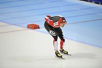 SCHAATSEN: HEERENVEEN: IJsstadion Thialf, 11-01-2013, Seizoen 2012-2013, Essent ISU EK allround, 5000m Men, Martin Hänggi (SUI), ©foto Martin de Jong