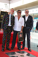LOS ANGELES - AUG 22:  Simon Cowell, brothers at the Simon Cowell Star Ceremony on the Hollywood Walk of Fame on August 22, 2018 in Los Angeles, CA