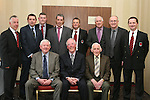 James Maguire, Gerry McDermot, FAI, Andrew Matthews, John Maguire, Frank Hanlon, Ivor Cooney, Fran Gavin, FAI, Kevin Hurley, Joe Murphy, Jimmy Maguire and Peader Reynolds at the 25th Anniversary of Drogheda Boys FC...Photo NEWSFILE/Jenny Matthews.(Photo credit should read Jenny Matthews/NEWSFILE)....This Picture has been sent you under the condtions enclosed by:.Newsfile Ltd..The Studio,.Millmount Abbey,.Drogheda,.Co Meath..Ireland..Tel: +353(0)41-9871240.Fax: +353(0)41-9871260.GSM: +353(0)86-2500958.email: pictures@newsfile.ie.www.newsfile.ie.FTP: 193.120.102.198.