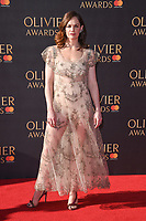 Ruth Wilson<br /> arriving for the Olivier Awards 2017 at the Royal Albert Hall, Kensington, London.<br /> <br /> <br /> &copy;Ash Knotek  D3245  09/04/2017