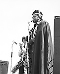 Solomon Burke 1965 at Uxbridge Blues Festival..