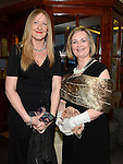 Helen Gotts and Adrienne Carroll pictured at the 65 Roses ball in the Grove hotel. Photo:Colin Bell/pressphotos.ie
