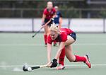 UTRECHT - Elin van Erk (Laren)  tijdens de hockey hoofdklasse competitiewedstrijd dames:  Kampong-Laren . COPYRIGHT KOEN SUYK