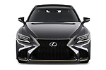 Car photography straight front view of a 2018 Lexus LS 500 F-SPORT 4 Door Sedan