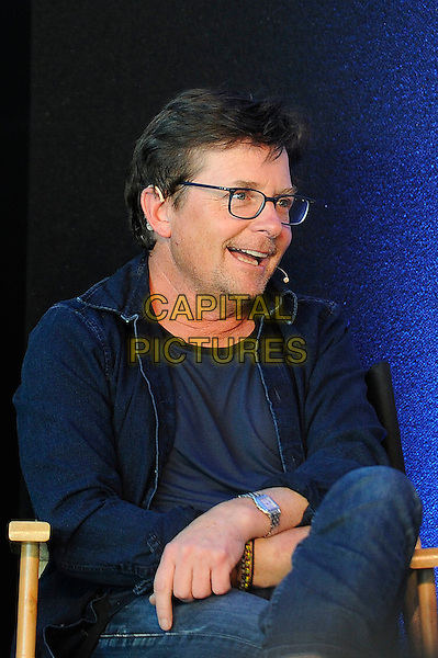 LONDON, ENGLAND - JULY 19: Michael J. Fox attending the London Film and Comic Con at Olympia London, on July 19, 2015 in London, England.<br /> CAP/MAR<br /> &copy; Martin Harris/Capital Pictures