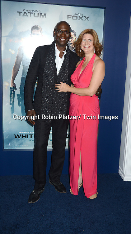Lance Reddick and wife Stephanie attends the Domestic Premiere of &quot;White House Down&quot;<br /> on June 25, 2013 at the Ziegfeld Theatre in New York City. The movie stars Channing Tatum and Jamie Foxx and Maggie Gyllenhaal.