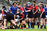 NELSON, NEW ZEALAND - SEPTEMBER 30: Nelson Bays U14 v Canterbury Metro U14 at Jubilee Park on September 30, 2017 in Nelson, New Zealand. (Photo by: Chris Symes/Shuttersport Limited)
