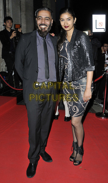 LONDON, ENGLAND - SEPTEMBER 19: Sunny Grewal &amp; Shay Grewal attend the Asian Achievers Awards 2014, Grosvenor House Hotel, Park Lane, on Friday September 19, 2014 in London, England, UK. <br /> CAP/CAN<br /> &copy;Can Nguyen/Capital Pictures