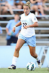26 August 2012: UNC's Amber Brooks. The University of North Carolina Tar Heels defeated the University of Montreal Caribins 1-0 in overtime at Fetzer Field in Chapel Hill, North Carolina in an international women's collegiate friendly game.