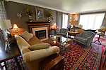 """The combination living room and TV room. """"At Home"""" with Margaret Lowery in her Lake Christine Drive home in Belleville, IL on July 24, 2019. <br /> Photo by Tim Vizer"""