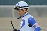 Jockey Corey S. Nakatani before the running of the Southwest Stakes (Grade III) at Oaklawn Park in Hot Springs, Arkansas on February 17, 2014. (Credit Image: © Justin Manning/Eclipse/ZUMAPRESS.com)