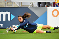 Orlando, FL - Saturday October 14, 2017:  Sabrina D'Angelo during the NWSL Championship match between the North Carolina Courage and the Portland Thorns FC at Orlando City Stadium.