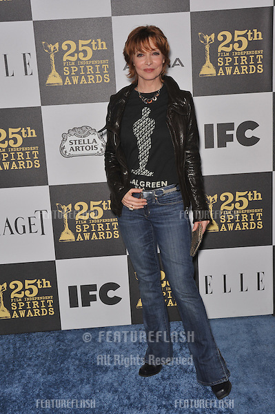 Sharon Lawrence at the 25th Anniversary Film Independent Spirit Awards at the L.A. Live Event Deck in downtown Los Angeles..March 5, 2010  Los Angeles, CA.Picture: Paul Smith / Featureflash